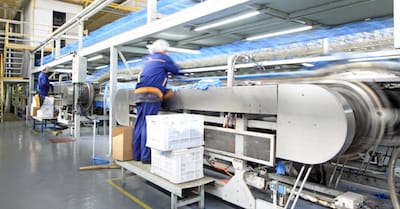 Manufacturing Business Interruption Loss Mitigated by Stock