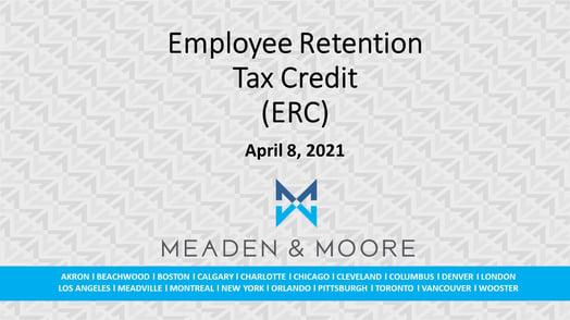 M&M ERC Presentation April 8 2021