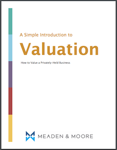 Introduction to Valuation Meaden Moore Whitepaper