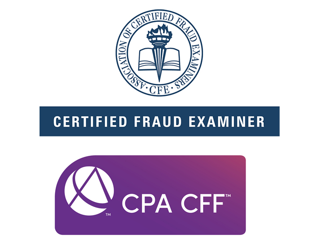 Certified Fraud Examiner badge